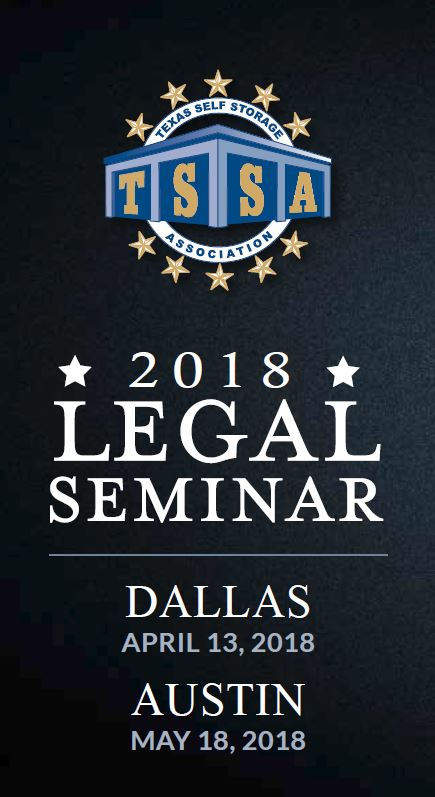 Self-Storage Legal Seminar Austin